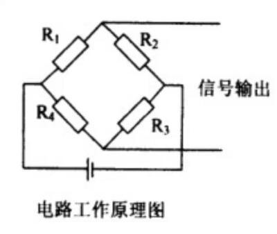测力传感器电路工作原理图