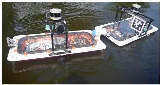 MIT开发能自动连接的机器船,构建水上智能交通