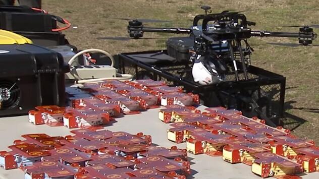 NASA正测试搭载多种传感器的微型无人机集群