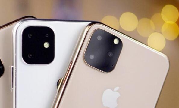 网上流传的苹果秋季发布会可能发布的iPhone 11系列新渲染图