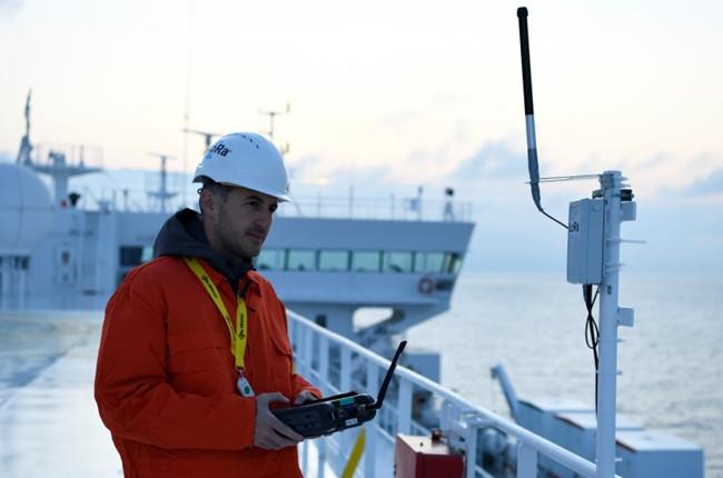 海上货轮将使用LoRa低功耗无线传感器和网关来监视船舶系统。(Semtech).jpg