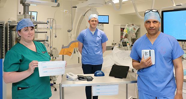 国外研究团队首次利用压力传感器进行心力衰竭监测