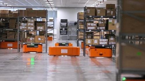 2021年全球工业移动机器人市场分布现状