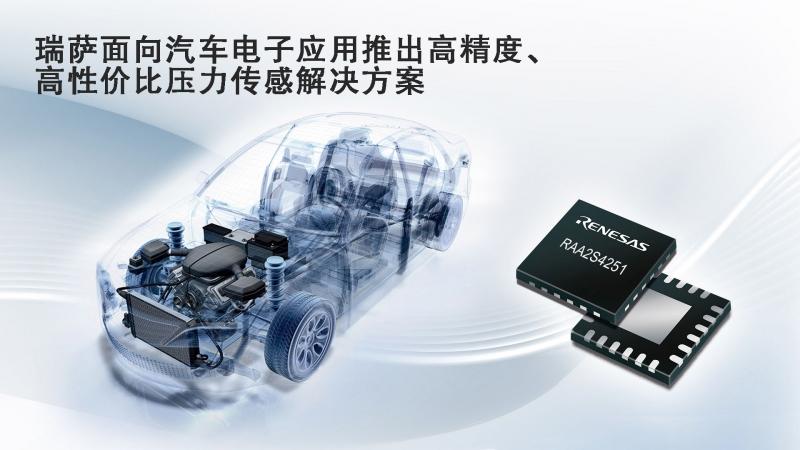 瑞萨面向汽车电子应用推出高精度、高性价比压力传感解决方案.jpg
