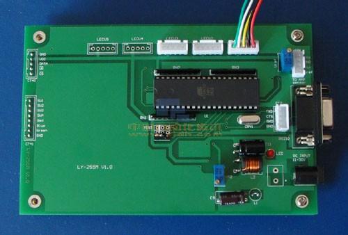 资料图 某类BMS系统的控制主板外观图