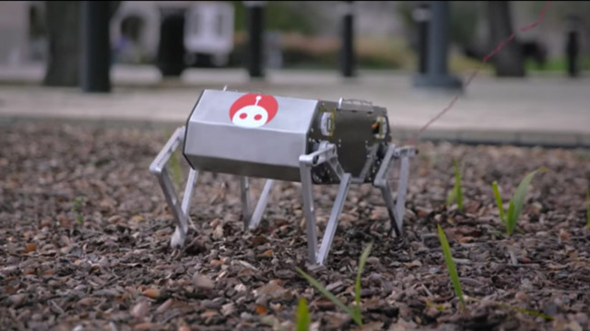 国外开发出能小跑、跳舞、后空翻的机器人