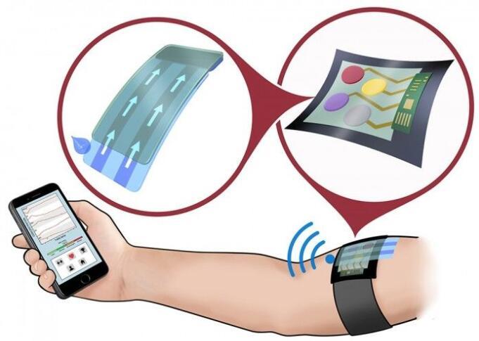 新型多功能电化学传感器可用于健身可穿戴设备中