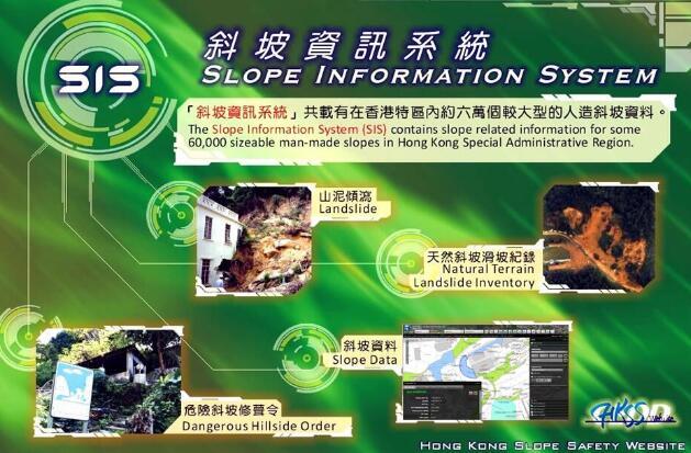 倾角传感器等监测手段用于香港滑坡灾害预警系统中