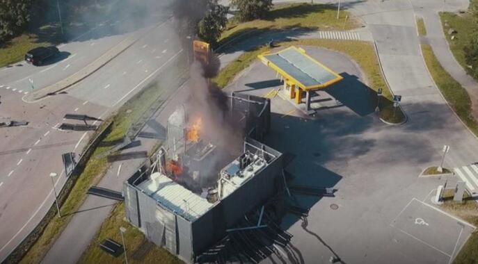 挪威发生加氢站爆炸事故