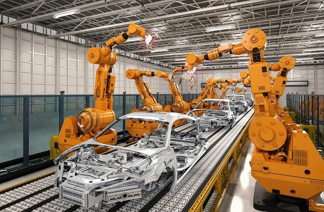 工业机器人中的各类传感器技术应用