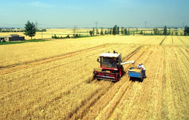 农机传感器助力麦收农机作业