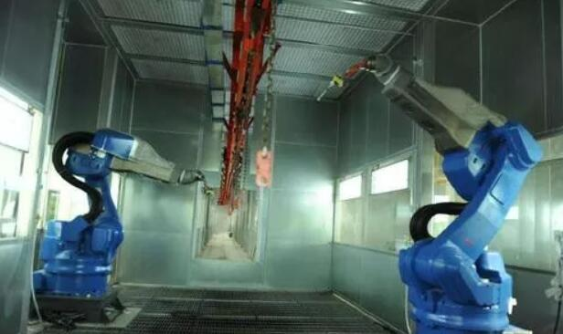 可燃气体传感器技术在防爆喷涂机器人中的应用
