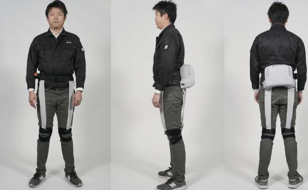 日本公司开发的内置传感器的机械外骨骼设备