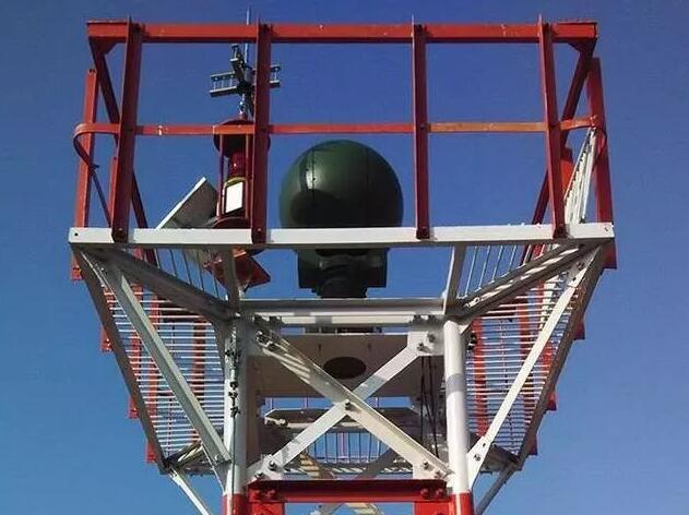 光学传感器和雷达传感器用于我国自主研发的机场跑道外来物探测系统中