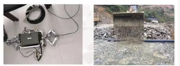 内置有IMU惯性测量单元的新型管道检测机器人