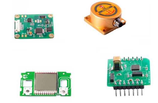可用于水下机器人测向的沃感科技Woosens三轴电子罗盘