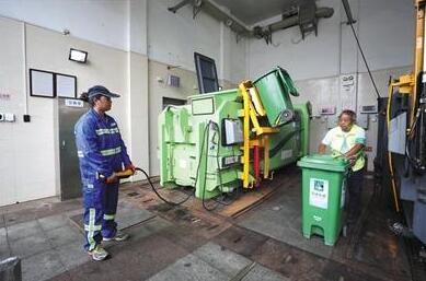 称重传感器助力北京生活垃圾精确计量和溯源