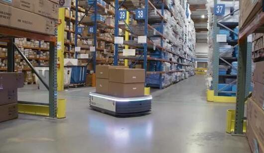从传感器惯性导航技术上谈AMR自主移动机器人相比AGV小车的优势