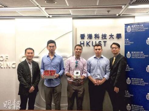 创业故事:香港青年用纳米技术研发新型气体监测传感器