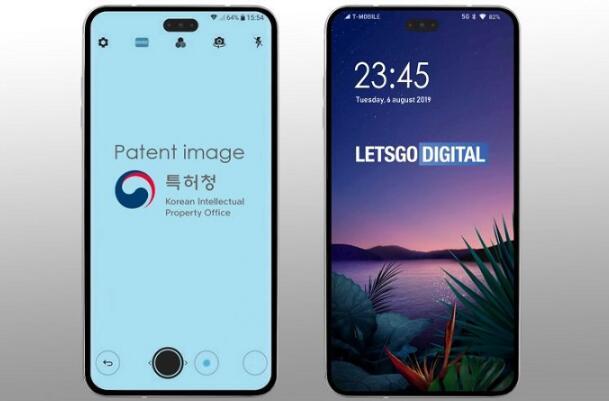 专利显示LG将推出内嵌传感器的打孔屏智能手机