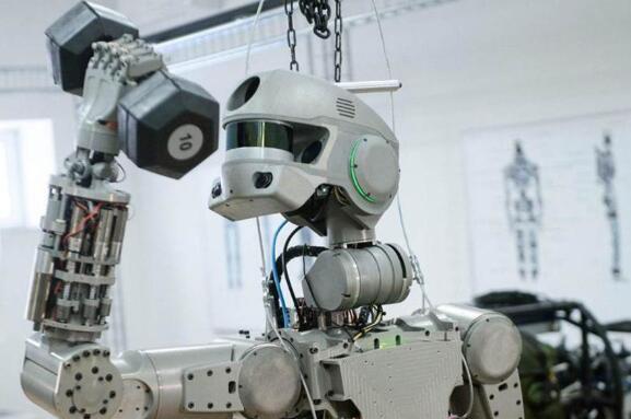 俄罗斯研发的太空机器人