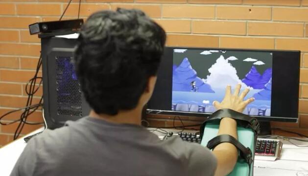 墨西哥研发虚拟现实游戏 借传感器助力神经康复治疗