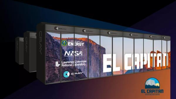 Cray以6亿美元为美国核模拟建造El Capitan超级计算机