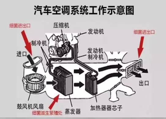 汽车空调蒸发器温度传感器故障
