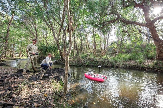低成本传感器集成的统计工具 可用于河流和礁石的水质监测