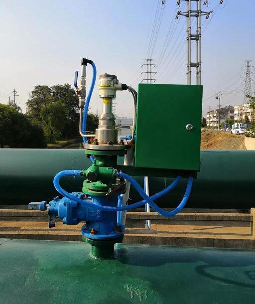 镇江供水管网漏监测中的压力传感器监测设备