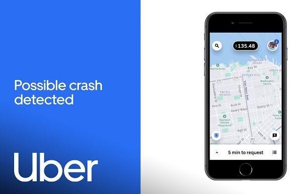 Uber新功能可借手机传感器检测意外事故
