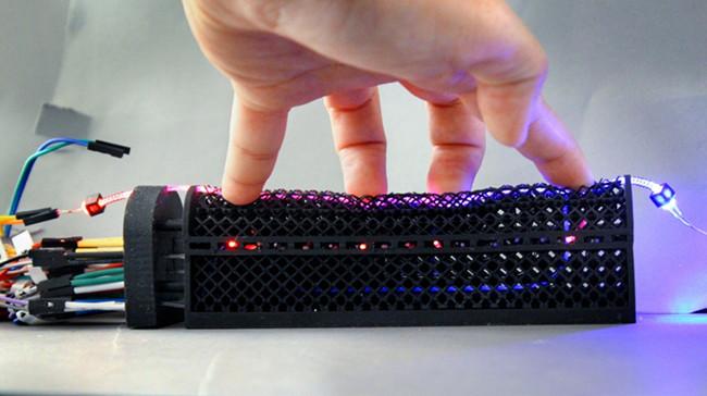 光学花边赋予机器人增强的感知能力