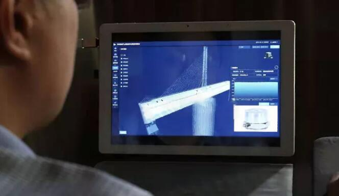 近百个传感器监测苏州高速公路桥健康状况