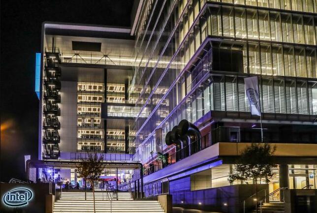 英特尔新建的研发大楼装有14000个传感器