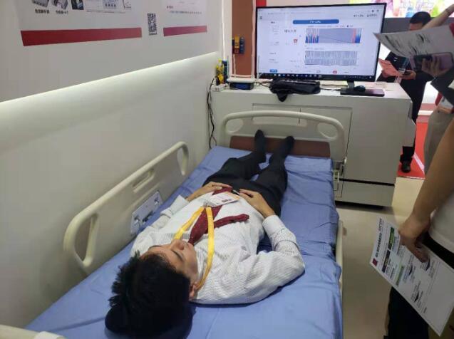 陪护床传感器设备监测老人机身体情况