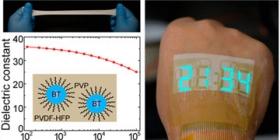 可伸缩电子设备打造出可安全佩戴的秒表贴纸