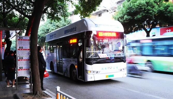 氢气传感器被用于福建首批氢能公交车上