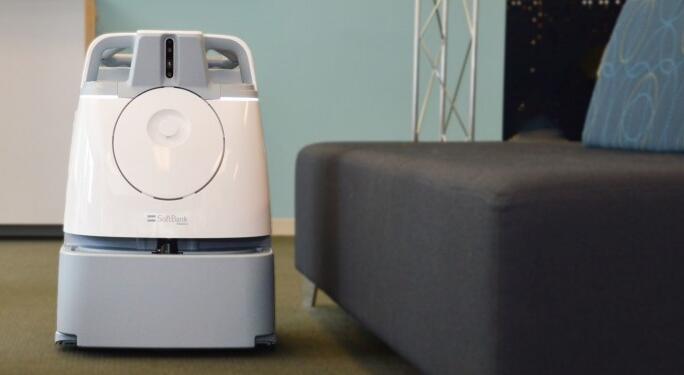 软银将在北美推出新型扫地机器人Whiz