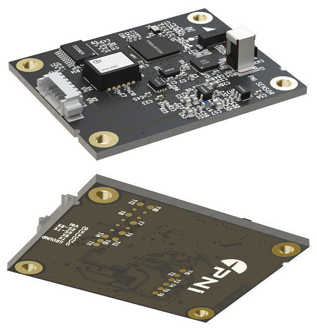 PNI公司推出的集成磁场传感器和电子罗盘算法的定位模块