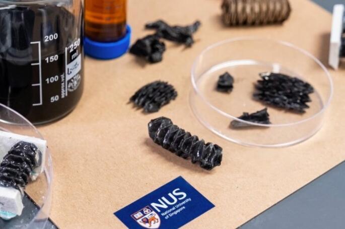 新加坡科学家研发可折叠金属材料 可用于柔性机器人