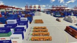 采用多传感器融合定位的IGV智能导引车用于码头建设