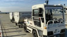 法国航空首次用搭载激光雷达的自动驾驶车辆搬运行李