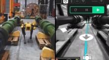 波士顿动力机器狗用传感器检测石油天然气泄露故障