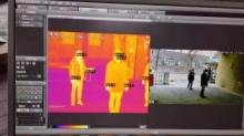 中科院研发出带红外测温芯片的室外无感红外测温仪