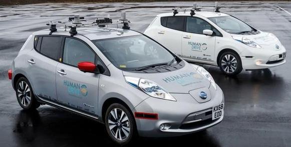 配备8个激光雷达的日产聆风完成自动驾驶挑战