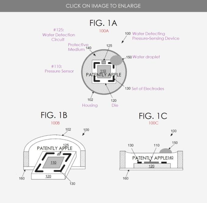 苹果获水压检测传感器新专利,将用于智能眼镜
