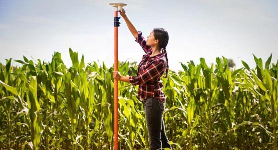 传感器和大数据监测农作物生长