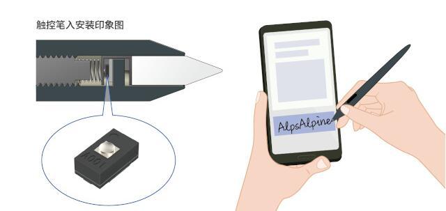 新型力传感器可检测智能手机触控笔的笔尖压力