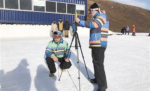 红外测温传感器测量雪温