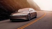 特斯拉劲敌Lucid 发布高级驾驶辅助系统,其Air系汽车将成美首个激光雷达版车型